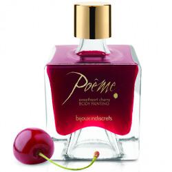 Poème edible paint cherry