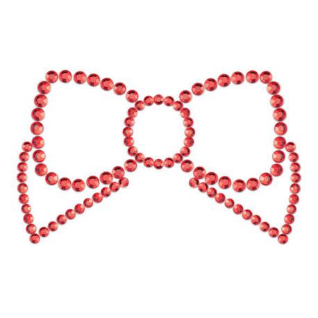 Mimi Bow Cubre Pezones Rojo
