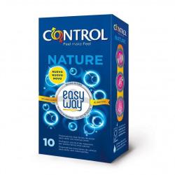 Contrôle préservatifs Nature facile façon Solution 10 Uds