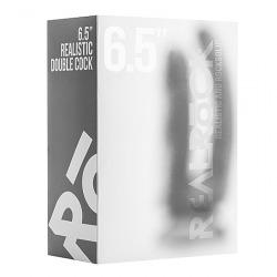 Realrock Pene Doble 16.5 Cm Transparente