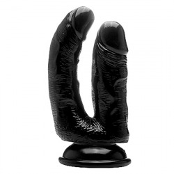 Realrock penis double penetration black