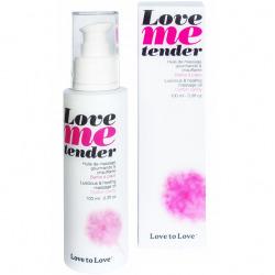 Love Me Tender massage nuages de coton 100 ml