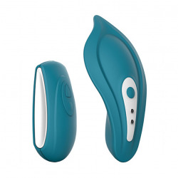 Rechargeable Vibe panty Ocean Blue