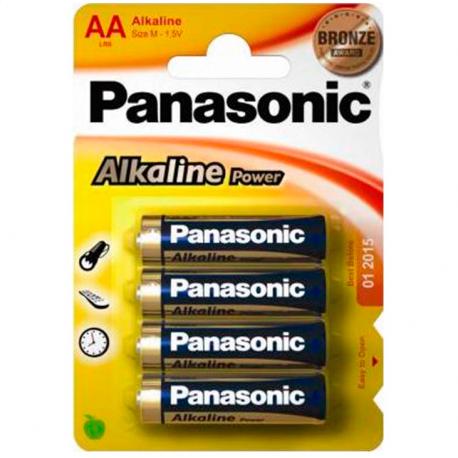Panasonic Bronze Pila Alcalina AA 4 Uds.