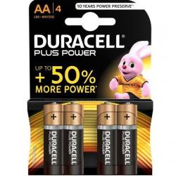 Duracel Plus Power Pilas AA 4 Uds
