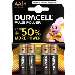 Duracel Plus Power Pilas AA 4 Uds