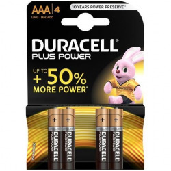 Duracel Plus Power Pilas AAA 4 Uds