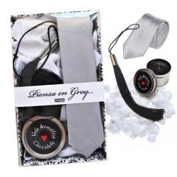 Boîte Erotica pense en gris