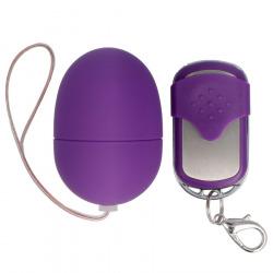Small Vibrating egg remote lilac