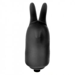 Power Rabbit Vibrador Manual Negro
