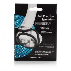 Anillo Negro Multiposición Silicona Full Erection