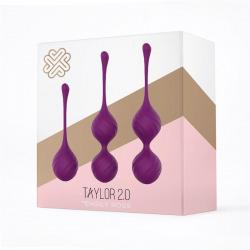 Taylor Kegel Silicone Balls Purple