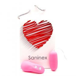 Huevo Saninex Vibrador Wireles Rosa
