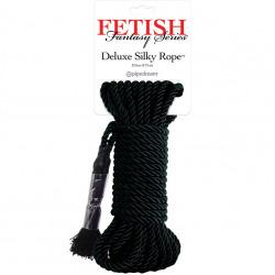 Silk Cuerda Bondage Negra 9.75 m