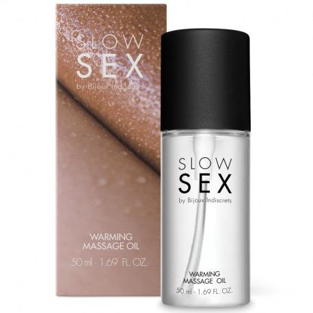 Slow Sex Oil Massage Heat Effect 50ml