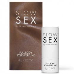 Perfume Corporal Slow Sex Sólido 8 gr