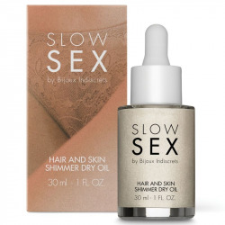 Aceite Seco Iluminador Multifunción Slow Sex 30 ml