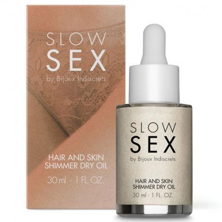 Aceite Seco Iluminador Multifunción Slow Sex 30 ml