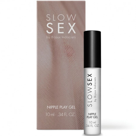 Slow Gel Stimulating Nipples 10 ml