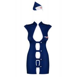 Stewardess Disfraz Azafata