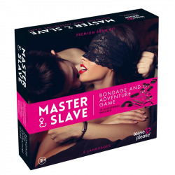 Master Slave Kit BDSM Parejas Rosa