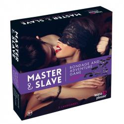 Master Slave Kit BDSM Parejas Morado