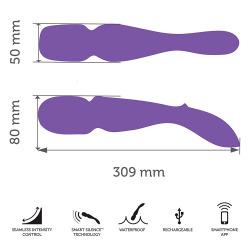 Masajeador Wand We-Vibe Purple