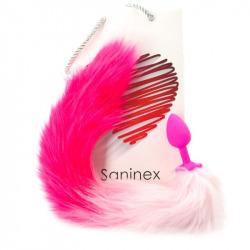 Plug Anal Pink Tail Unisex