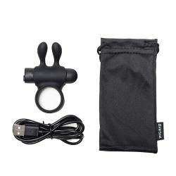 Rhingo Plus Black Vibrator Ring