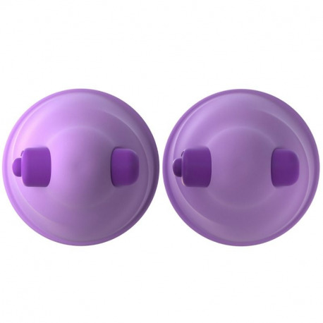 Nipple Suctions with Lilac Vibration