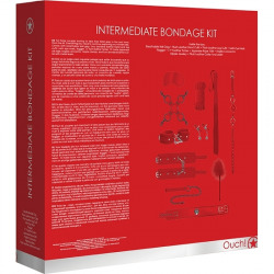 Kit Bondage Usuarios Intermedios Rojo