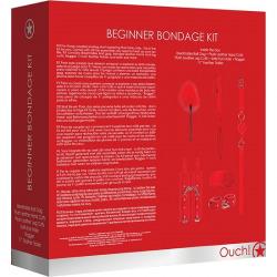 Kit Bondage Principiantes Rojo