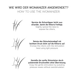 Womanizer Premium Estimulador Clítoris Azul