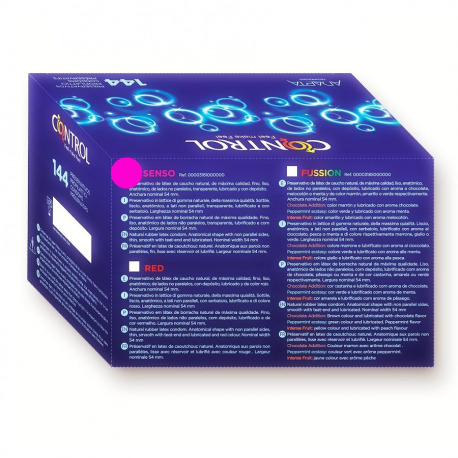 Preservativos Control Senso Caja Profesional 144 Uds