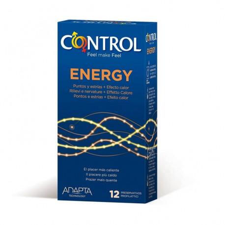 Preservativos Control Energy 12 Uds