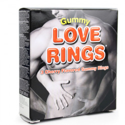 Chewable Caramel Penis Rings