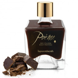 Poeme Pintura Comestible Chocolate Negro 50 gr
