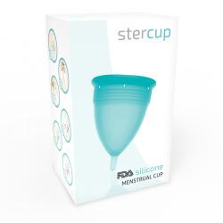 Copa Menstrual FDA Silicona Talla S Aquamarina