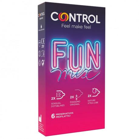Control Preservativos Fun Mix 6 Uds
