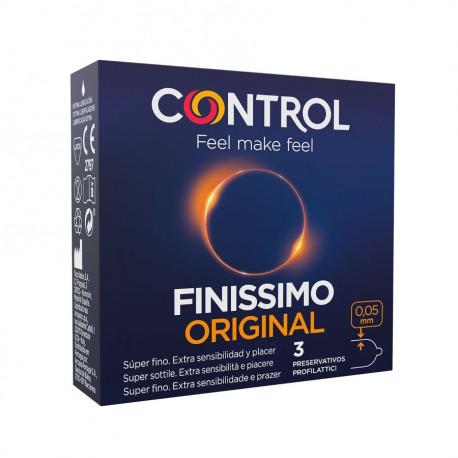 Control Preservativos Finissimo Original 3 Uds.