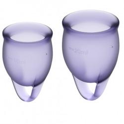 Sentez-vous confiant Purple Menstrual Cup