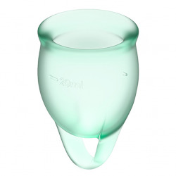 Feel Confident Copa Menstrual Verde