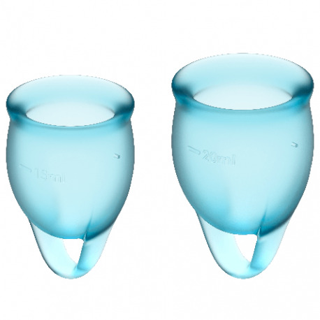 Feel Confident Copa Menstrual Azul