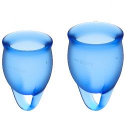 Feel Confident Copa Menstrual Azul Oscuro