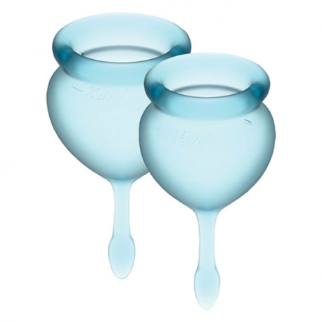Satisfyer Feel Good Copa Menstrual Azul