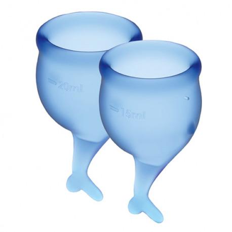 Feel Secure Copa Menstrual Azul Oscuro