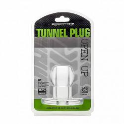 Ass Tunnel Silicona Transparente M