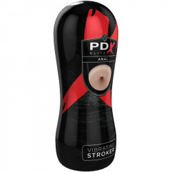 PDX Elite Masturbador Anal con Vibración