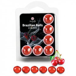 Set 6 Brazilian Balls Cereza