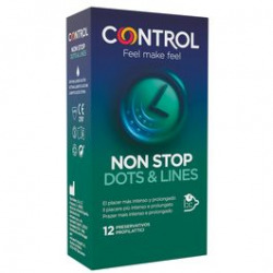Preservativos Non Stop Puntos y Estrías